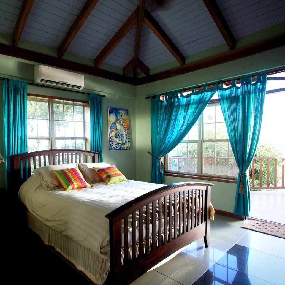 Balcony Bedroom Modern property Resort home cottage Villa