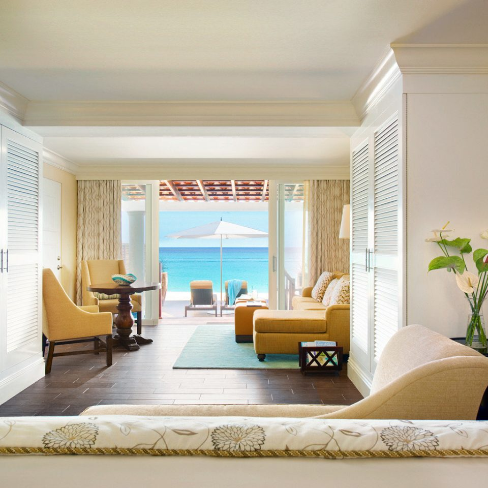 Balcony Bedroom Ocean Scenic views Suite sofa property living room home condominium