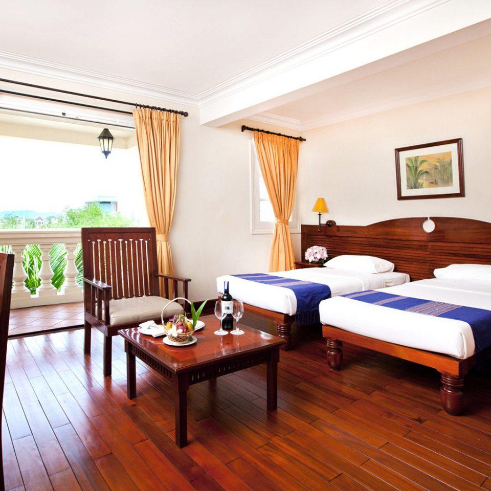 Balcony Bedroom Scenic views Tropical sofa property Suite Resort cottage hardwood Villa nice flat hard
