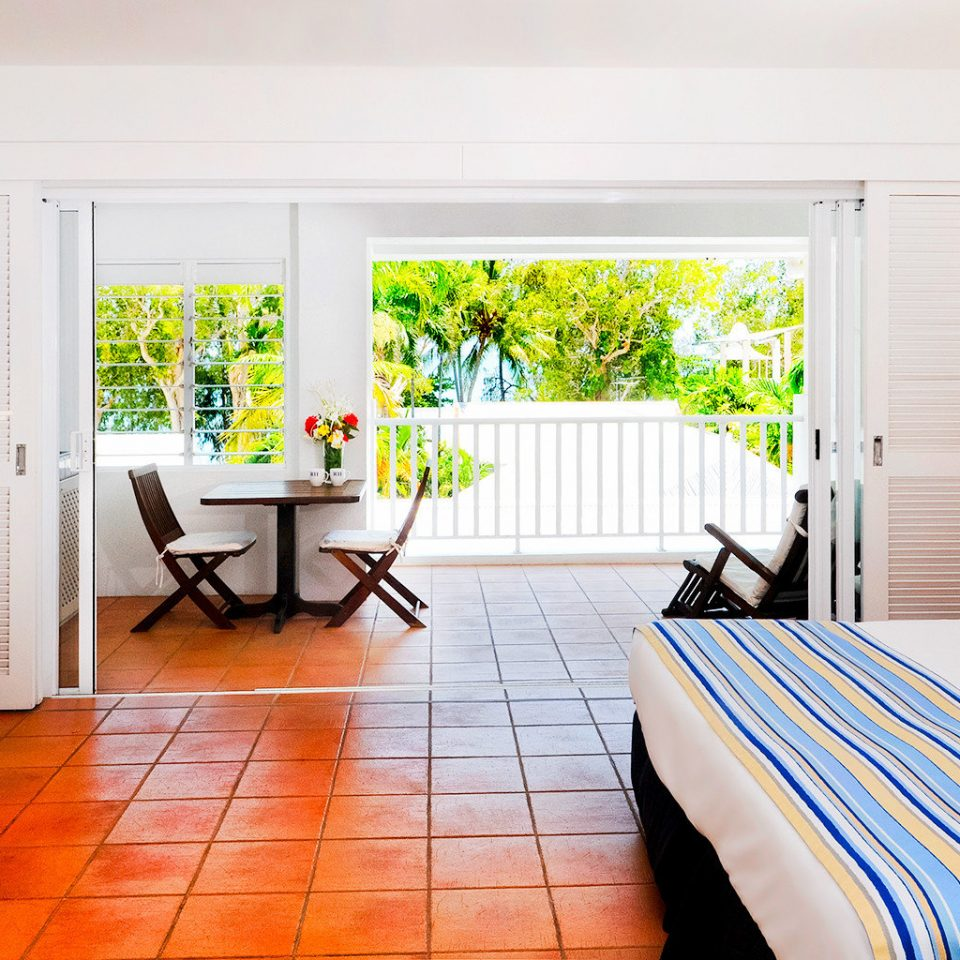 Balcony Bedroom Resort Scenic views property home living room cottage white Suite