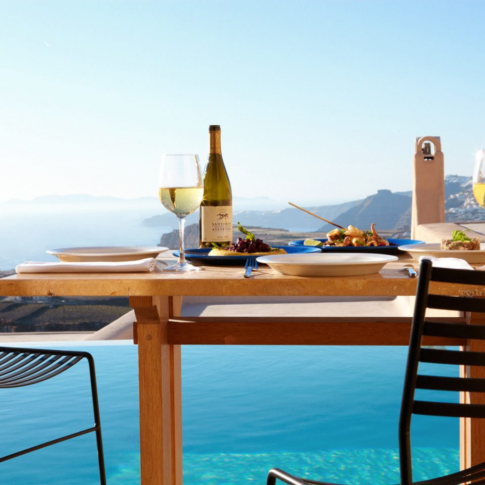 Balcony Boutique Dining Honeymoon Pool Romance Romantic Suite Villa sky chair leisure swimming pool restaurant vehicle yacht Resort passenger ship set Deck day