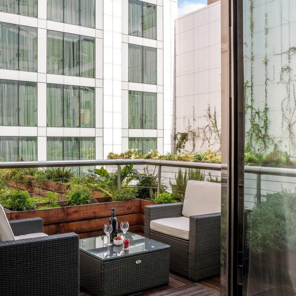 property building home house Balcony porch condominium sash window cottage window treatment