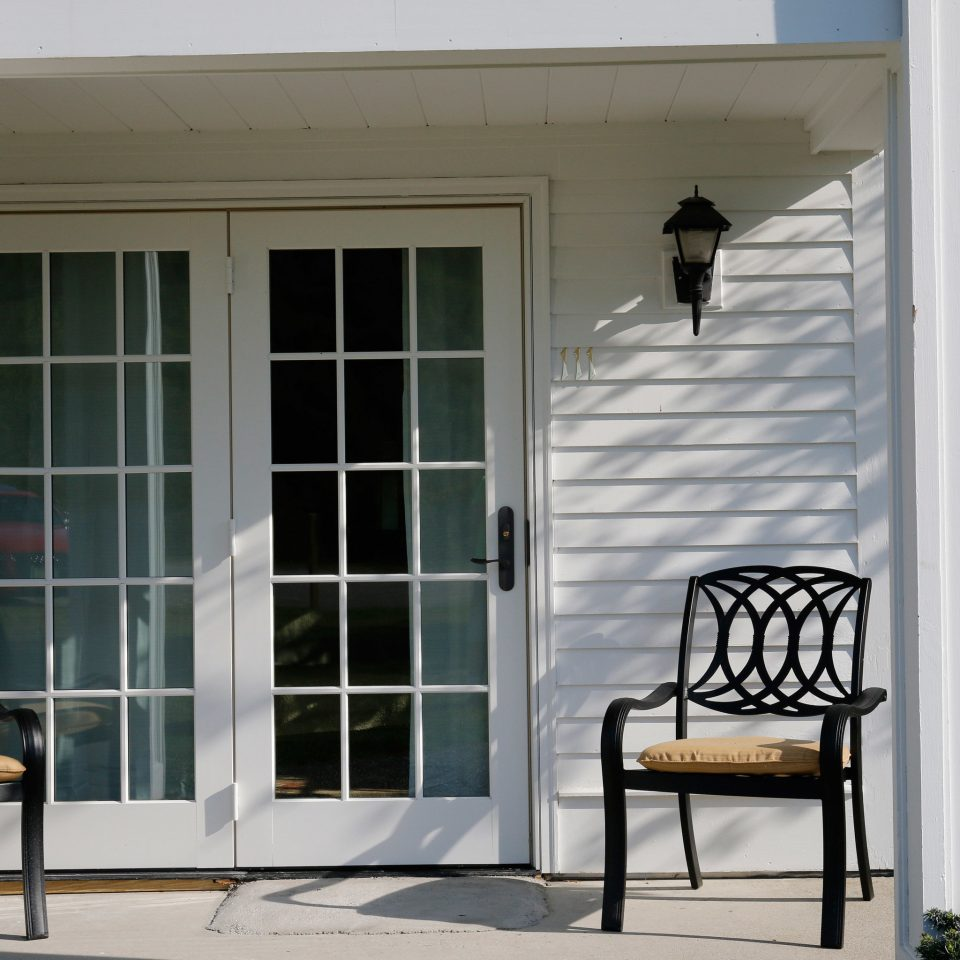building house porch home door sash window outdoor structure Balcony cottage