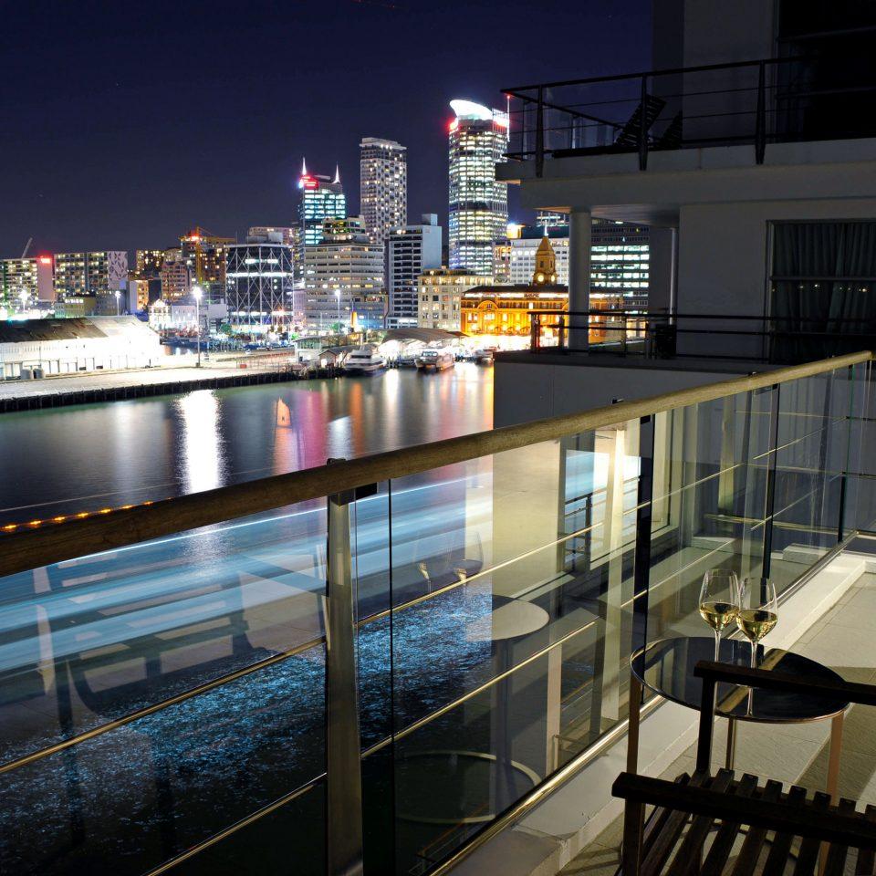 Balcony City Drink Resort Scenic views Waterfront night light lighting vehicle tourist attraction