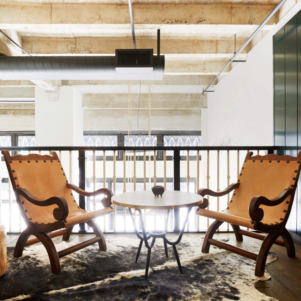 Balcony City Elegant Hip Lounge Modern chair property building home house wooden living room loft cottage farmhouse