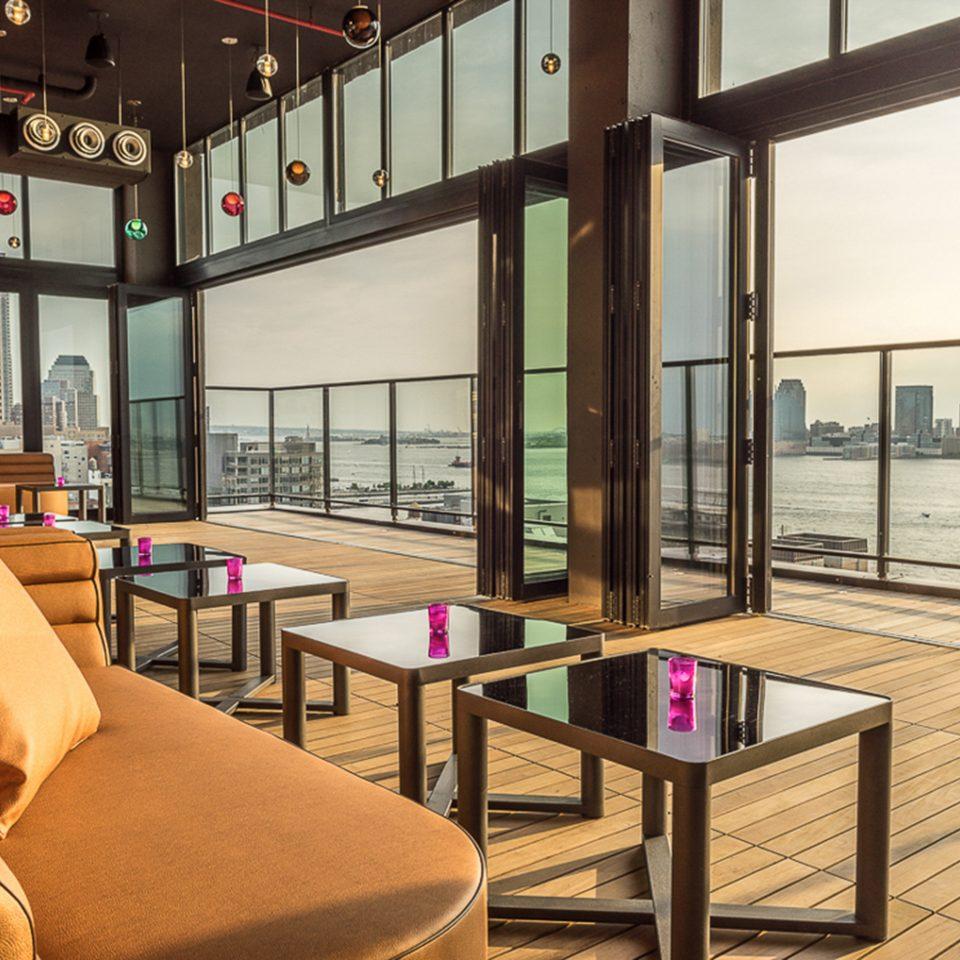Balcony City Hotels Lounge Luxury Scenic views Trip Ideas property Lobby condominium living room home overlooking