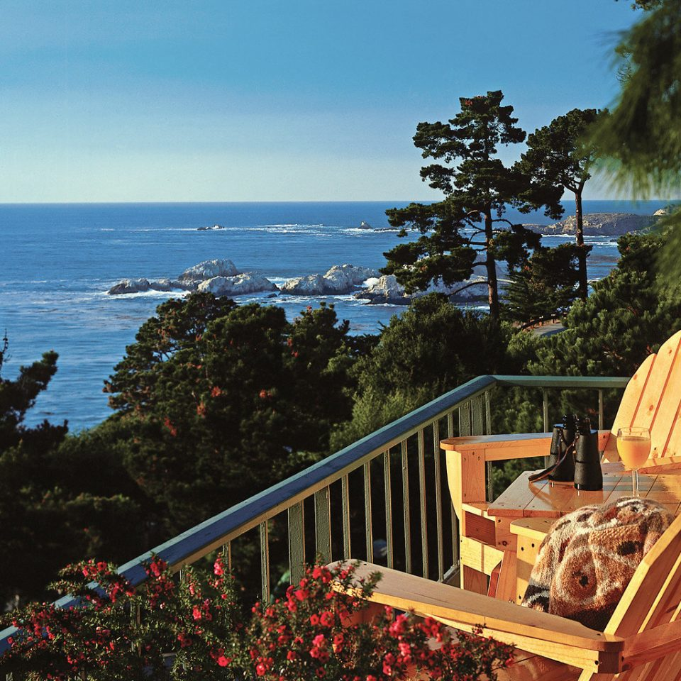 Balcony Honeymoon Ocean Outdoors Romance Scenic views Waterfront tree house Sea Coast park Resort overlooking Deck