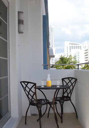 property home condominium Balcony cottage dining table