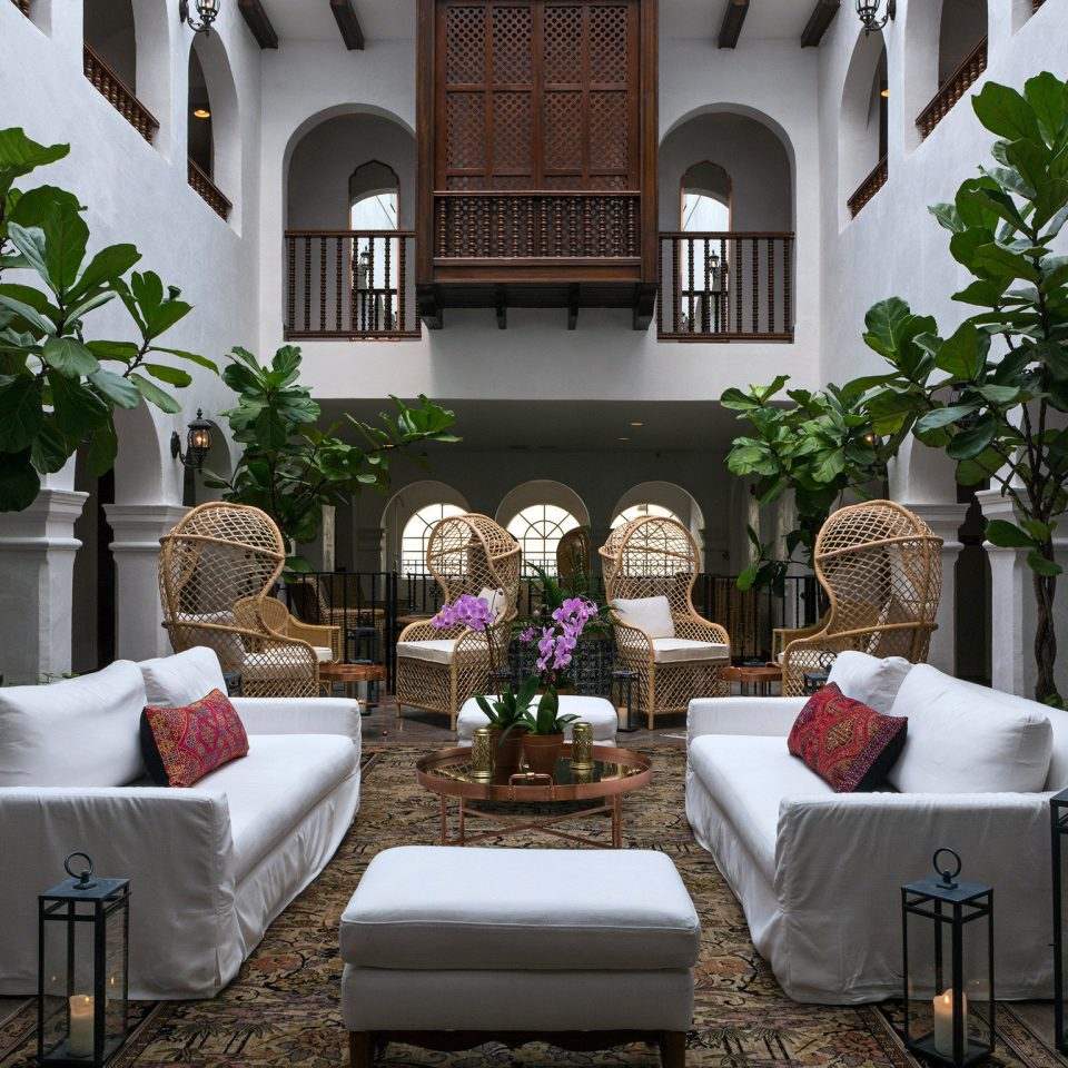 Lounge Resort home flower Courtyard floristry mansion living room backyard plant Balcony Villa