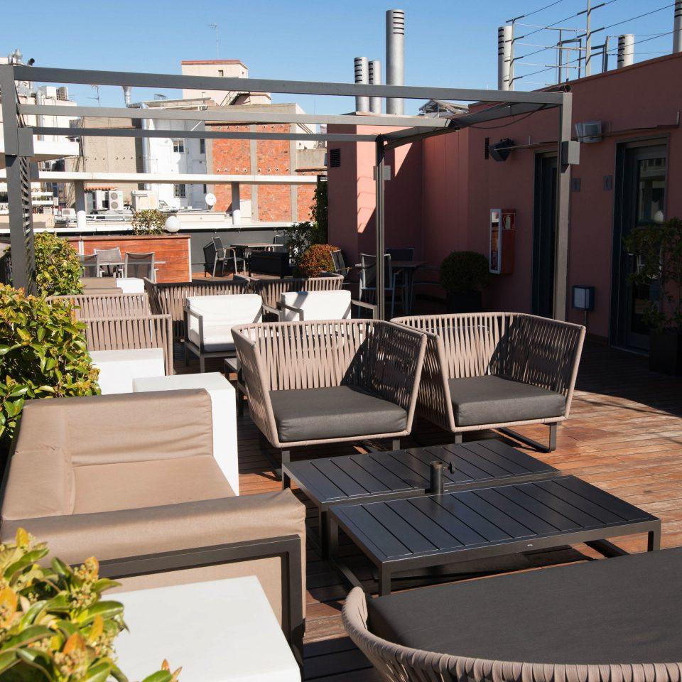 property condominium home residential area Balcony outdoor structure Courtyard backyard Villa