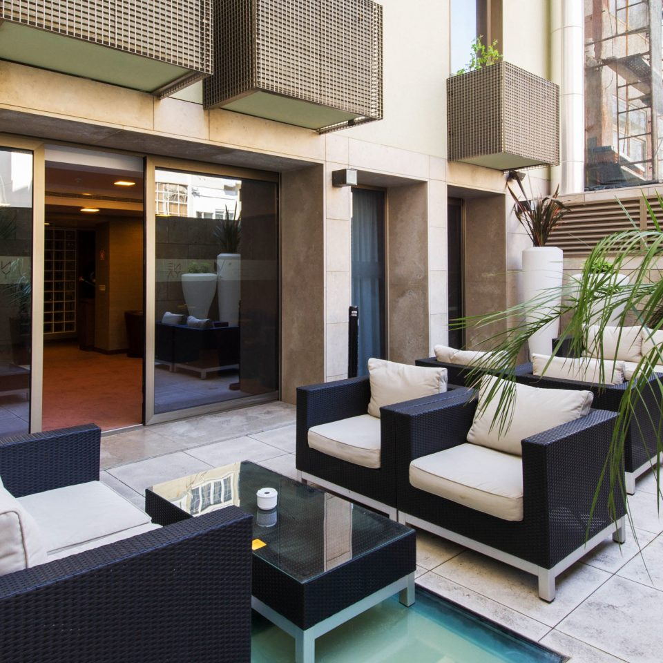 property condominium house home Villa Courtyard living room mansion backyard cottage outdoor structure Balcony