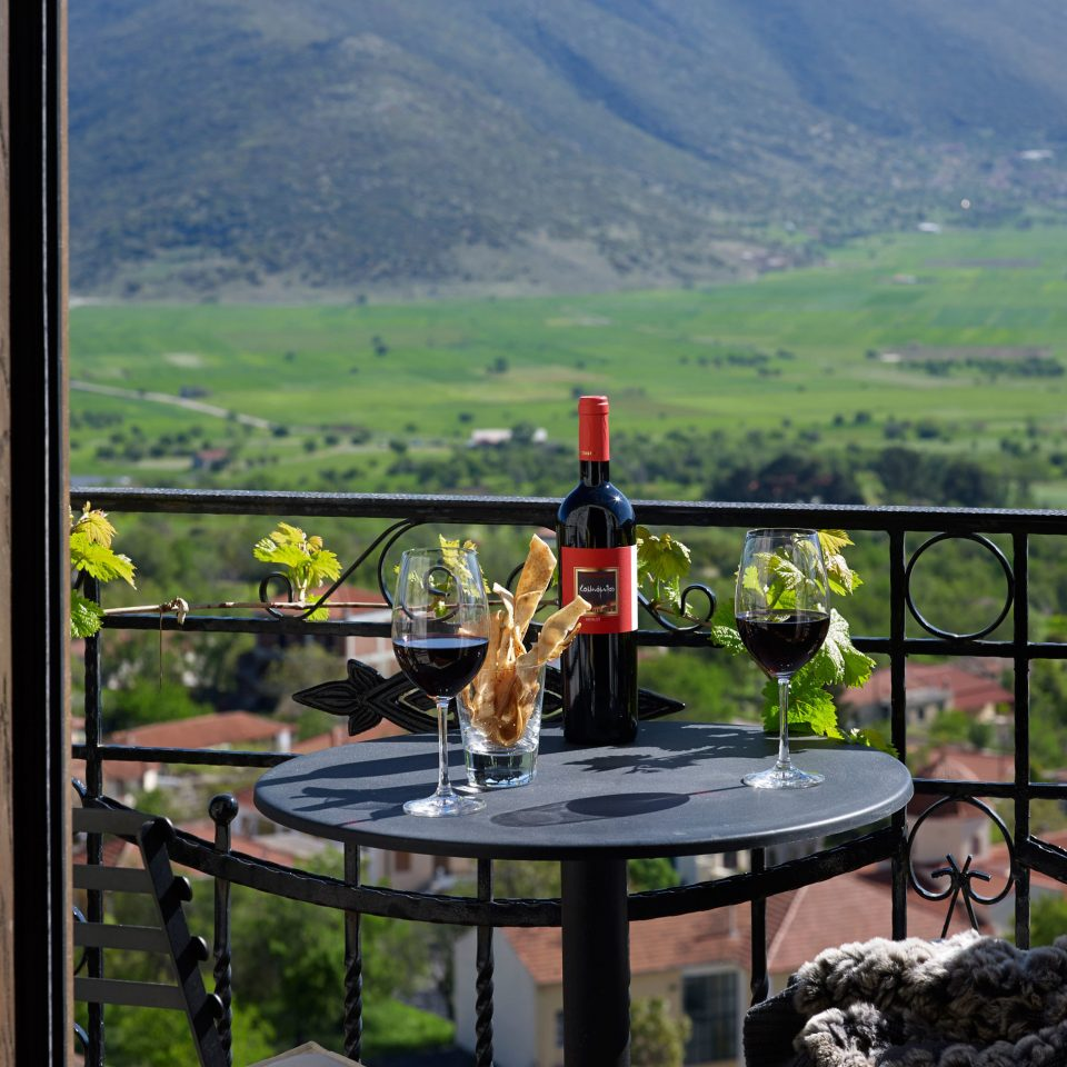 Balcony Cultural Drink Forest Honeymoon Mountains Nature Romantic Scenic views Wine-Tasting mountain overlooking