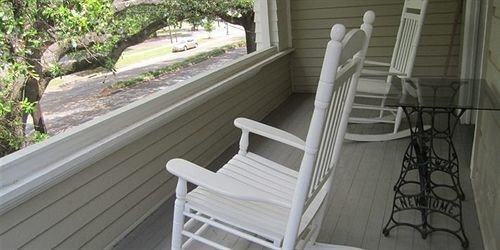 property handrail porch Balcony stairs outdoor structure baluster home Deck cottage seat