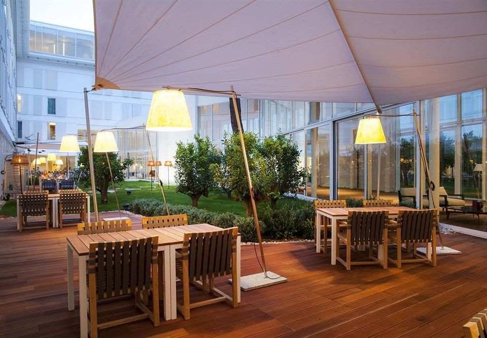 outdoor structure roof Balcony restaurant Deck café