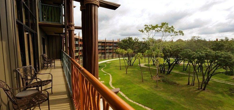 Balcony Exterior Family Resort grass property building porch home Villa mansion cottage Deck