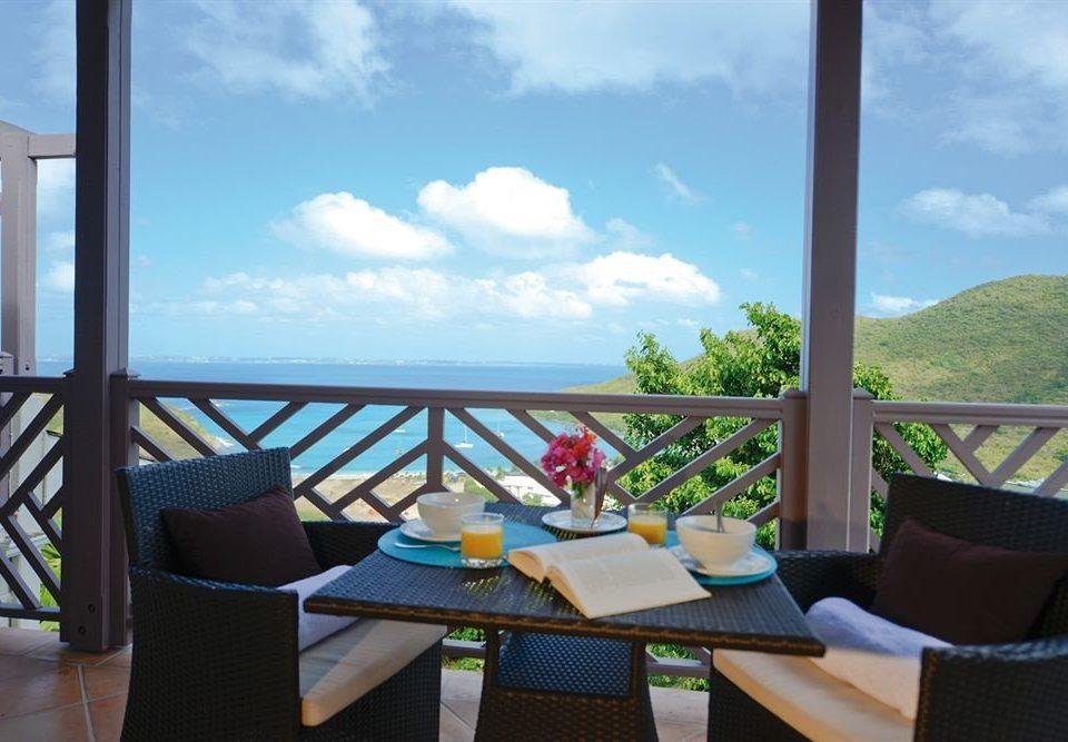 sky chair property Villa house Resort home condominium cottage Balcony overlooking Deck day