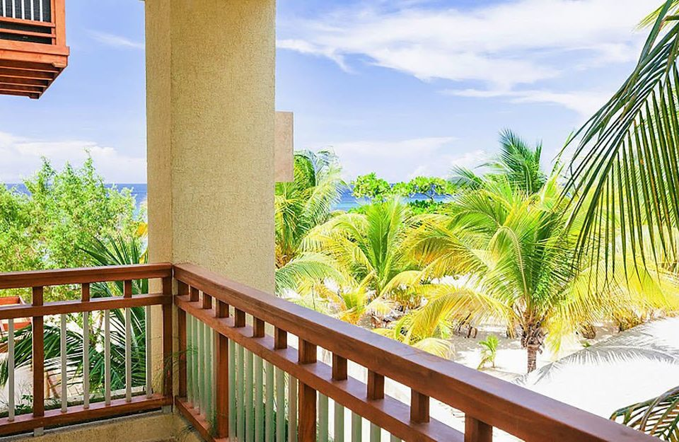 sky building property Resort arecales condominium plant Villa caribbean porch Deck Balcony
