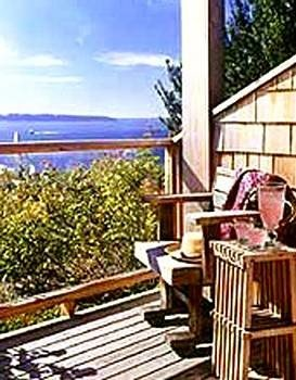 building property porch Resort home cottage Balcony Deck Villa outdoor structure