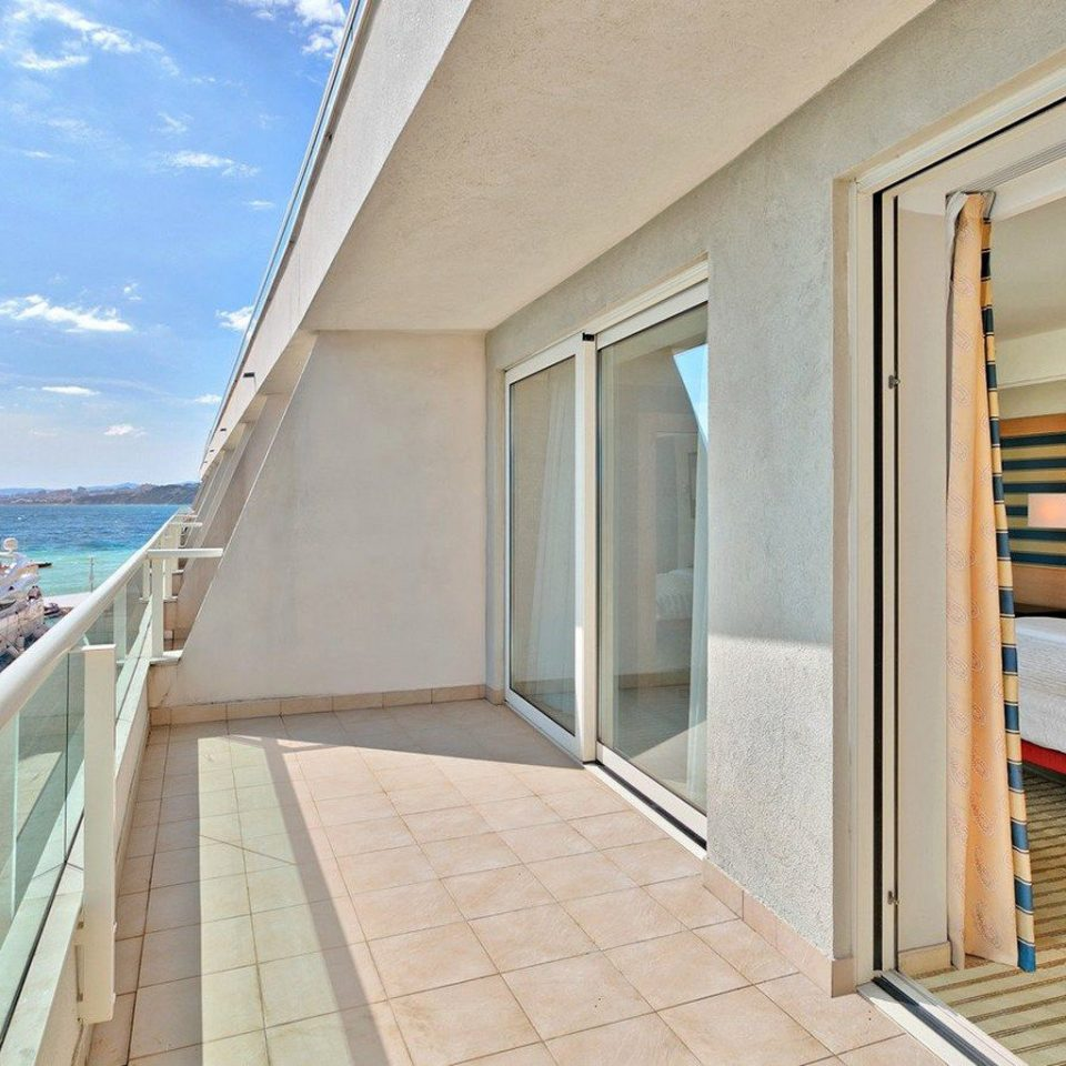 property building Villa yacht Balcony cottage Deck