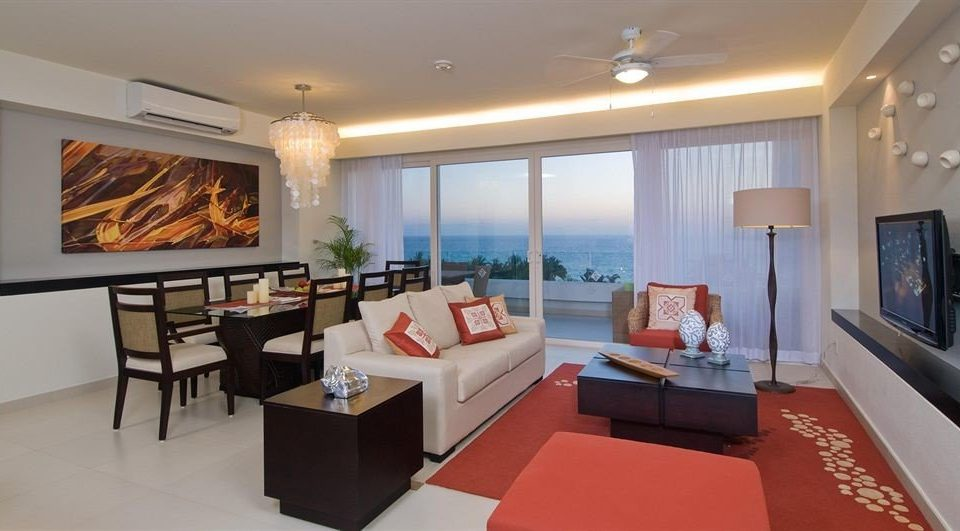 Balcony Lounge Patio Suite Tropical property living room condominium Villa flat