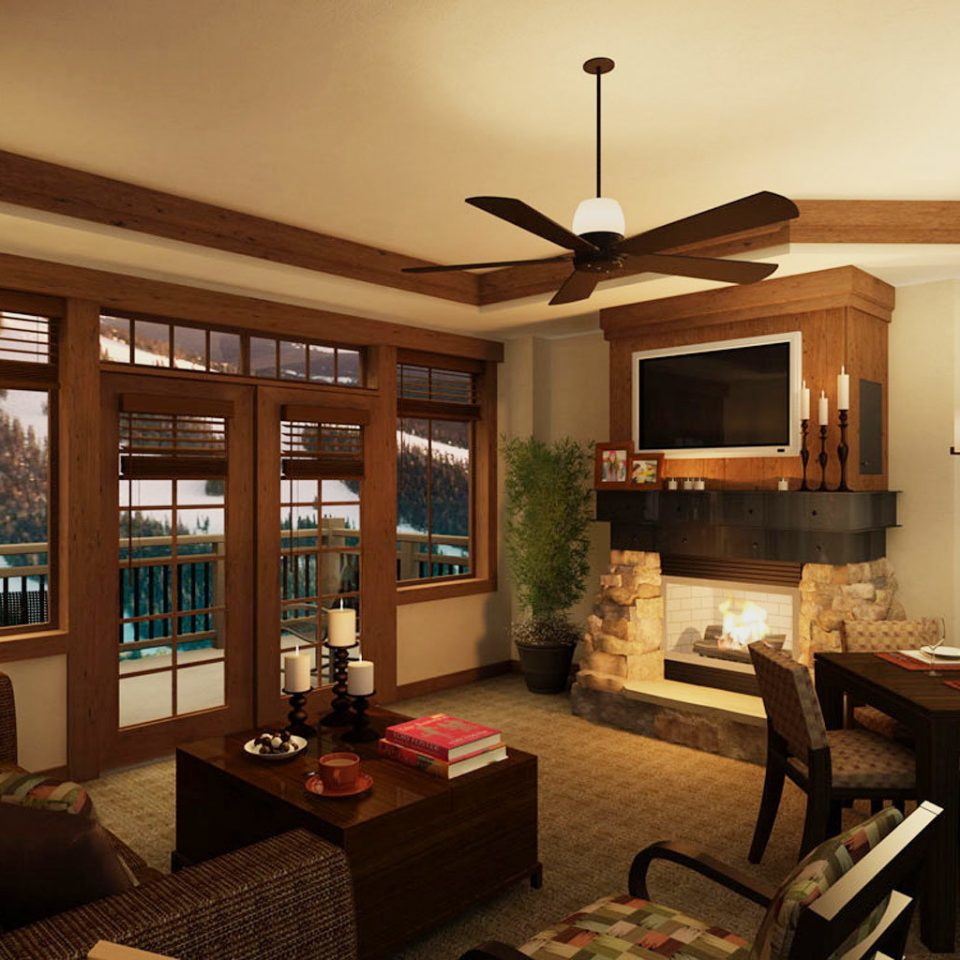 Balcony Mountains Nature Outdoors Rustic Scenic views Ski living room property home condominium cottage Villa farmhouse