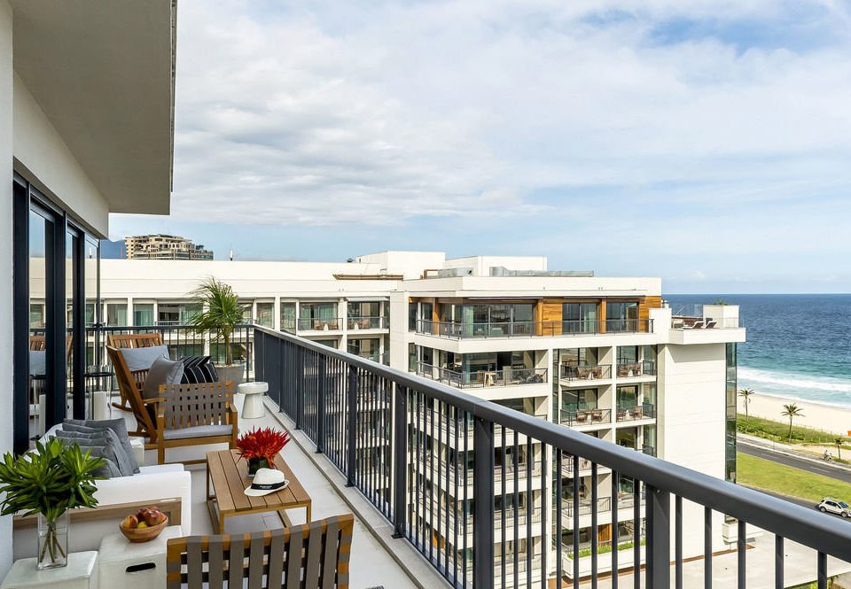 sky property condominium home Resort walkway Balcony