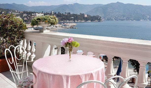 mountain Resort Balcony restaurant overlooking