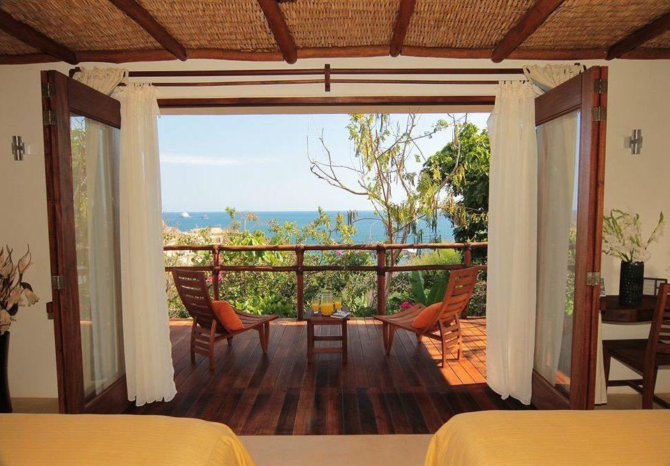 Balcony Resort Waterfront property house home Villa cottage living room hacienda restaurant
