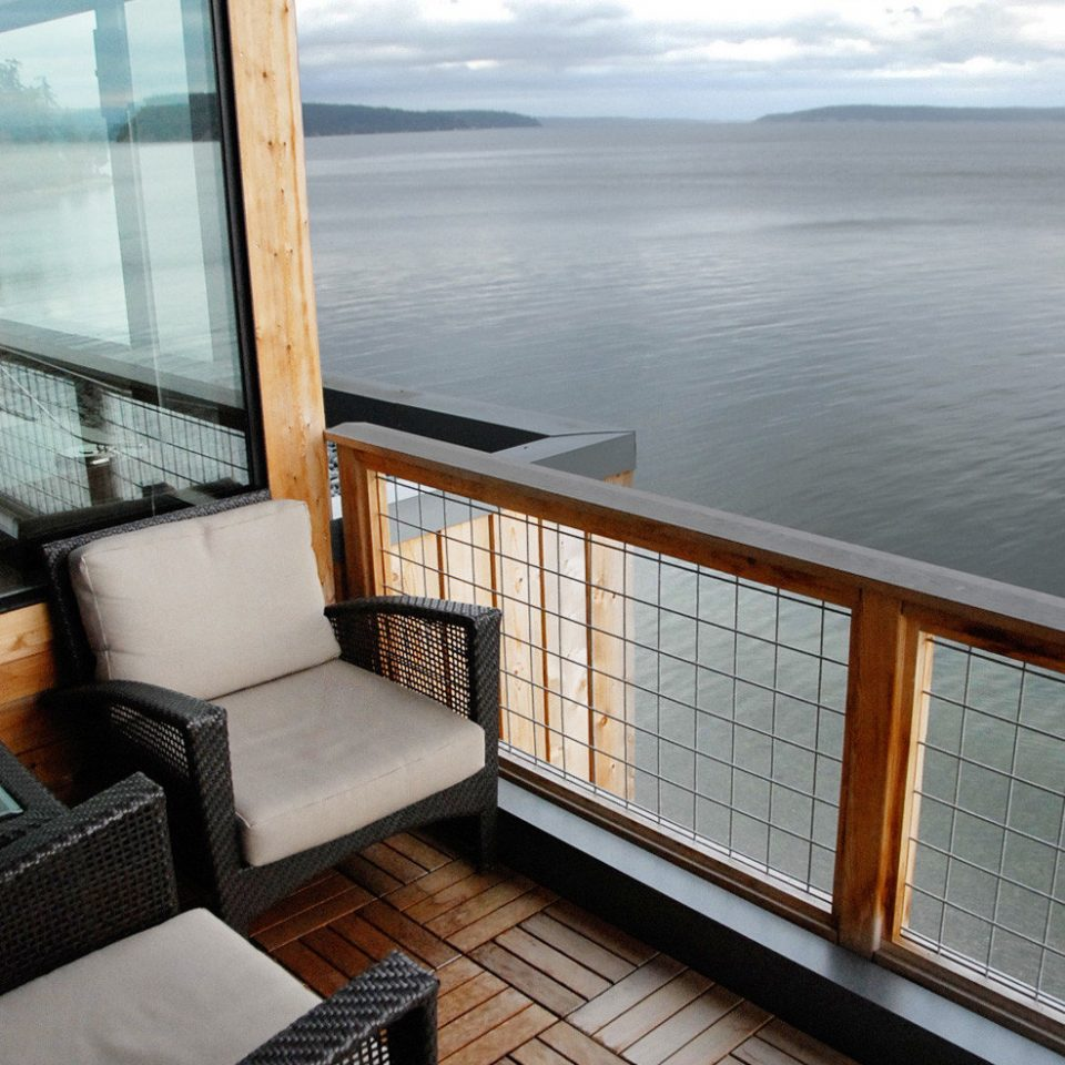 Balcony Scenic views property house home cottage vehicle yacht living room overlooking