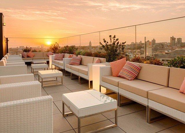 sky property condominium Balcony outdoor structure Villa living room