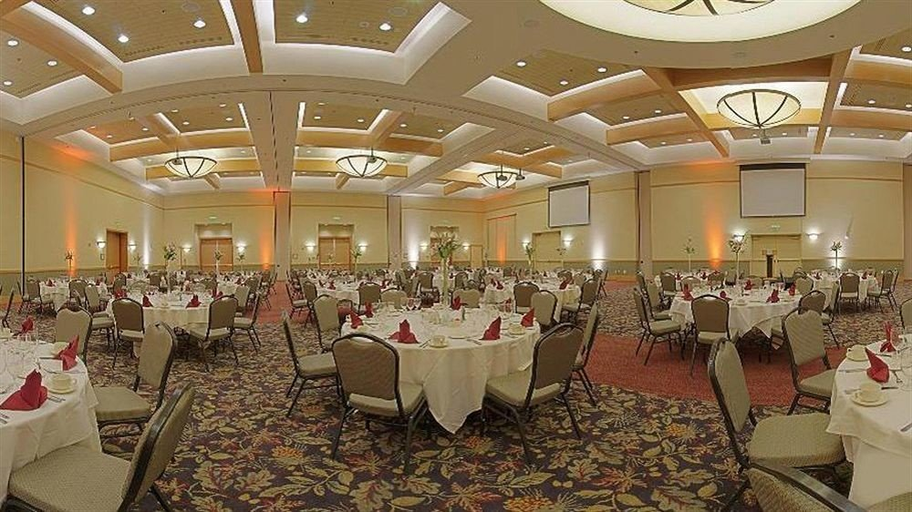 chair function hall banquet ballroom conference hall ceremony convention center wedding reception convention set