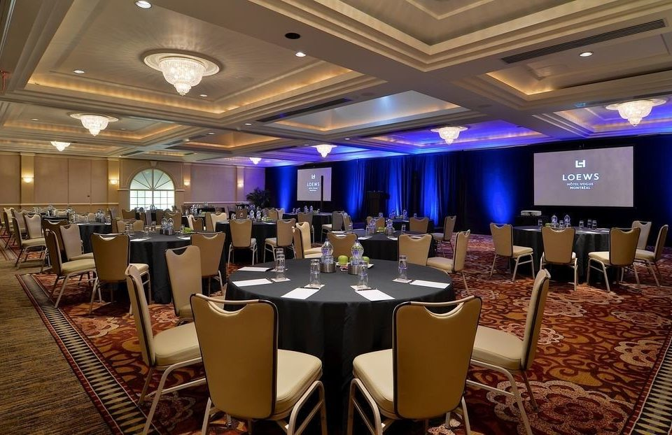 chair function hall conference hall convention center banquet ballroom meeting convention set