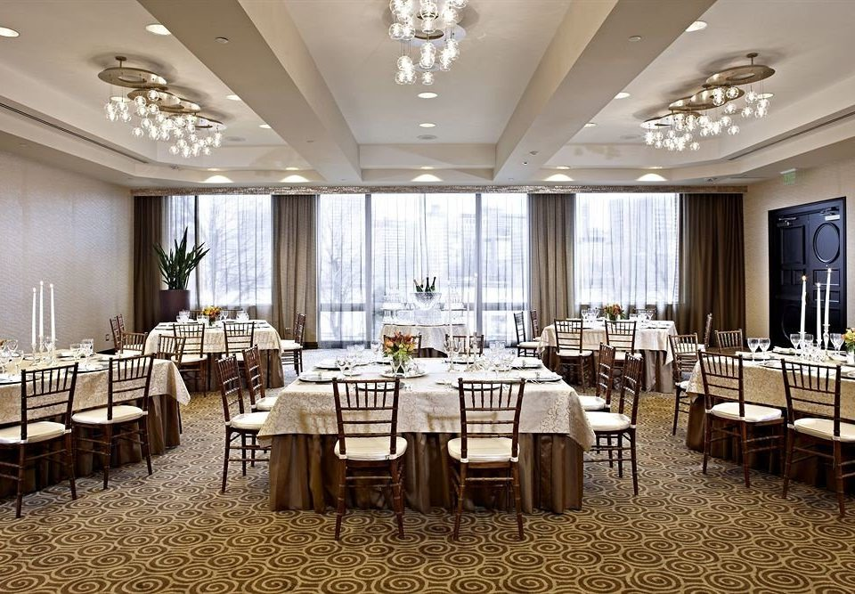 chair function hall conference hall ballroom banquet wedding restaurant convention center wedding reception
