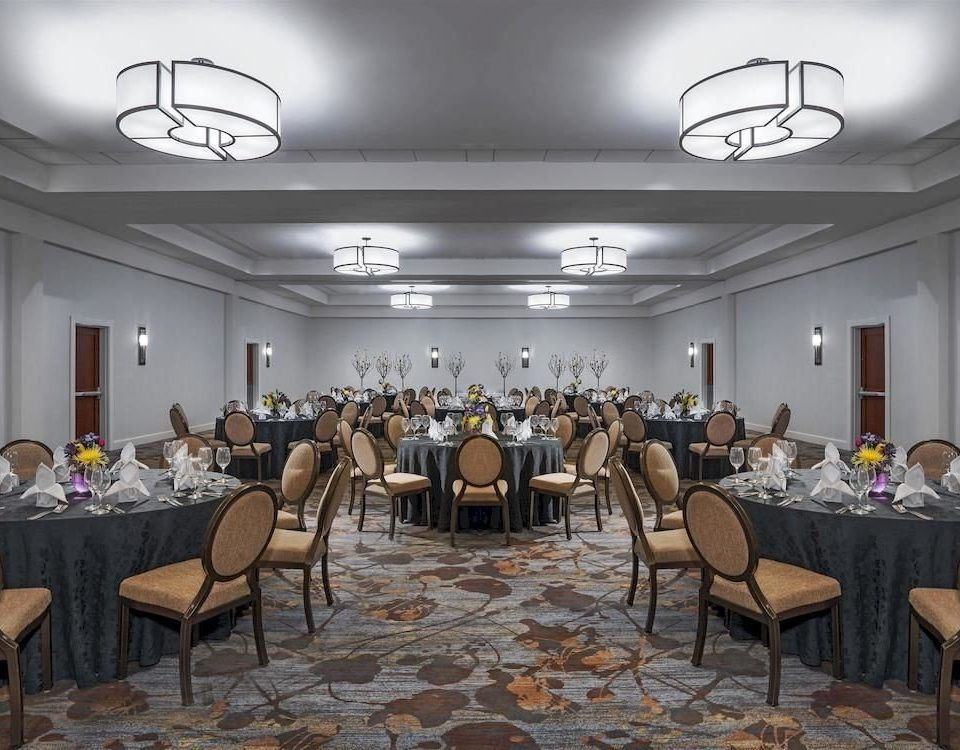 chair function hall banquet restaurant conference hall ballroom convention center set