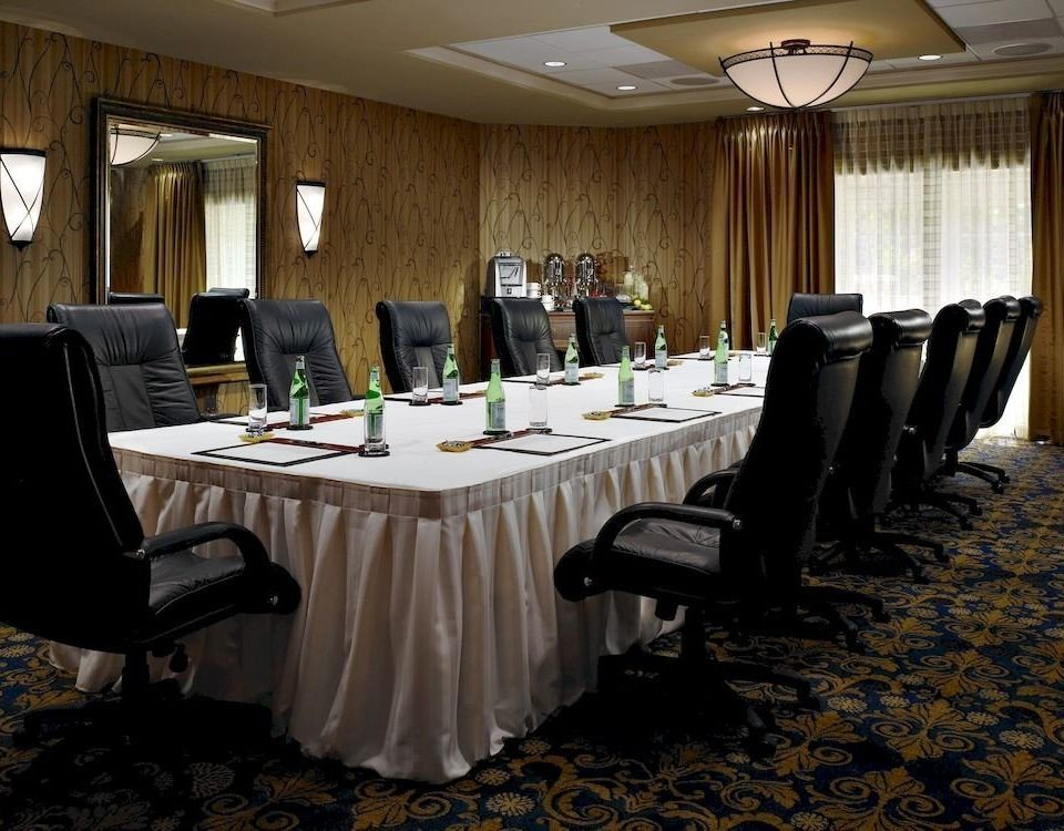 function hall conference hall banquet restaurant meeting ballroom convention convention center conference room dining table