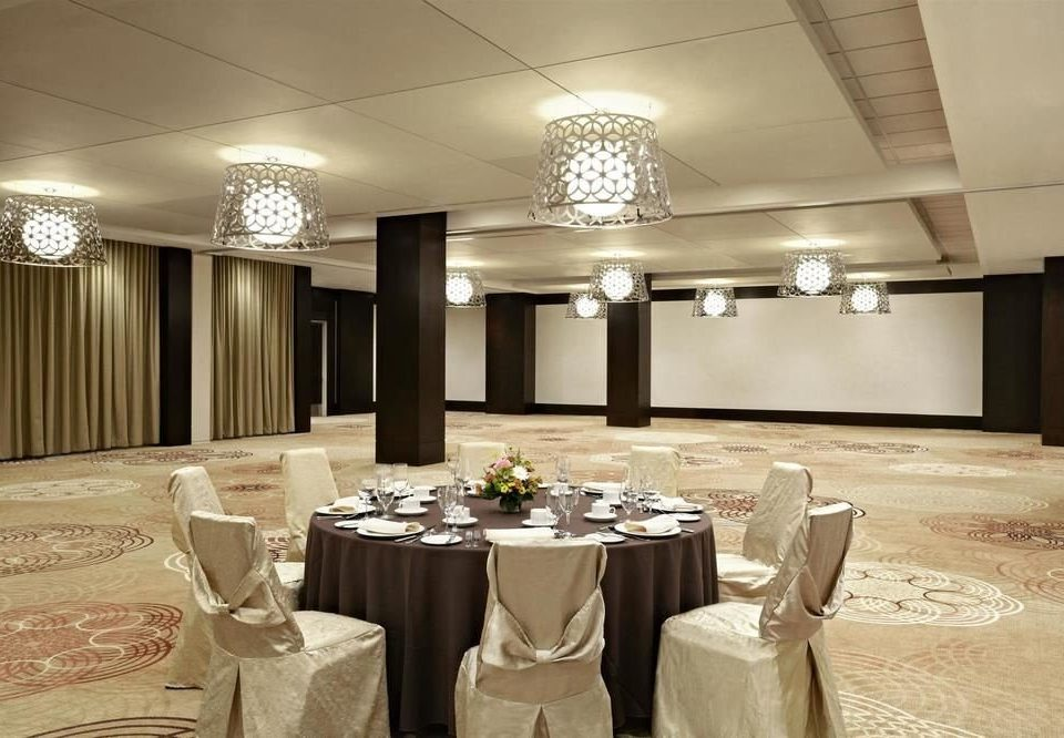 function hall ballroom banquet lighting conference hall restaurant fancy set