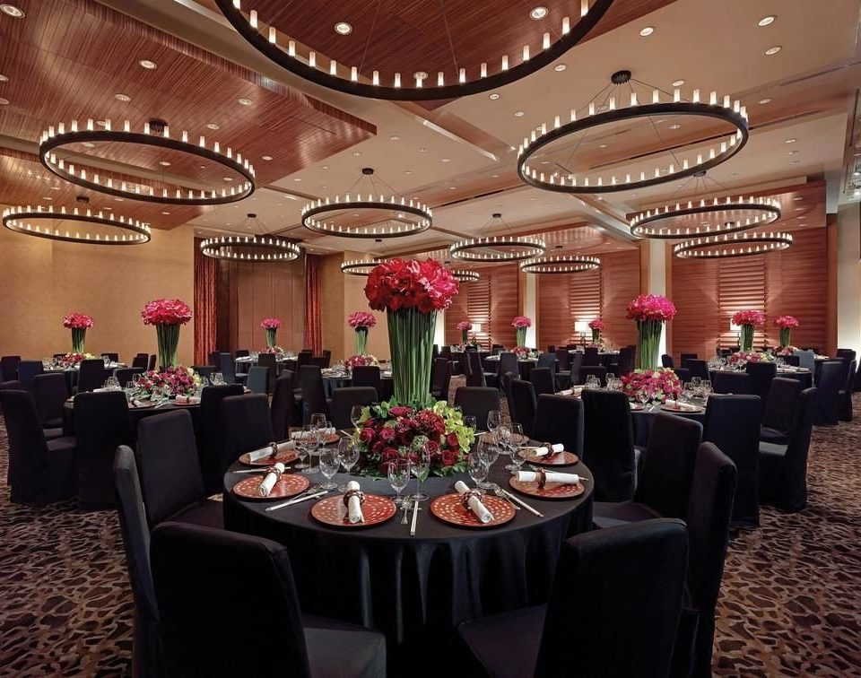 function hall banquet wedding reception ballroom restaurant conference hall set
