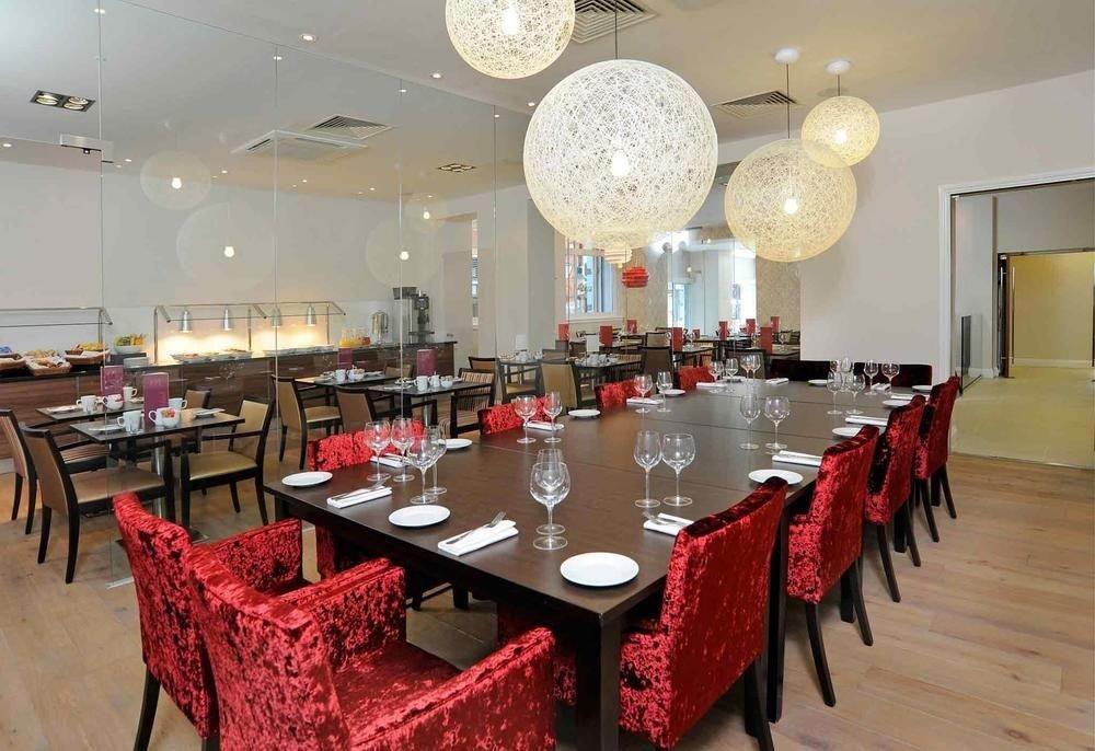 function hall red restaurant scene banquet ballroom dining table