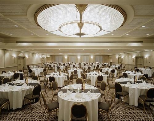 function hall banquet restaurant wedding ballroom wedding reception set