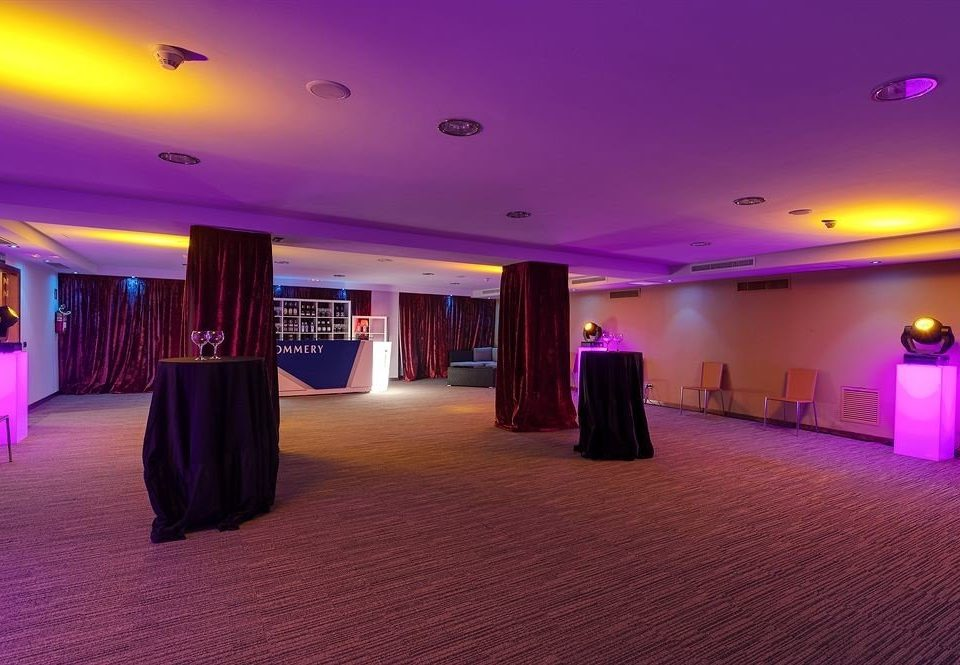 sky color function hall lighting ballroom