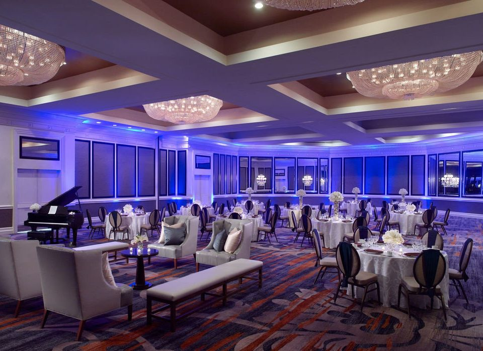 function hall restaurant convention center conference hall ballroom recreation room