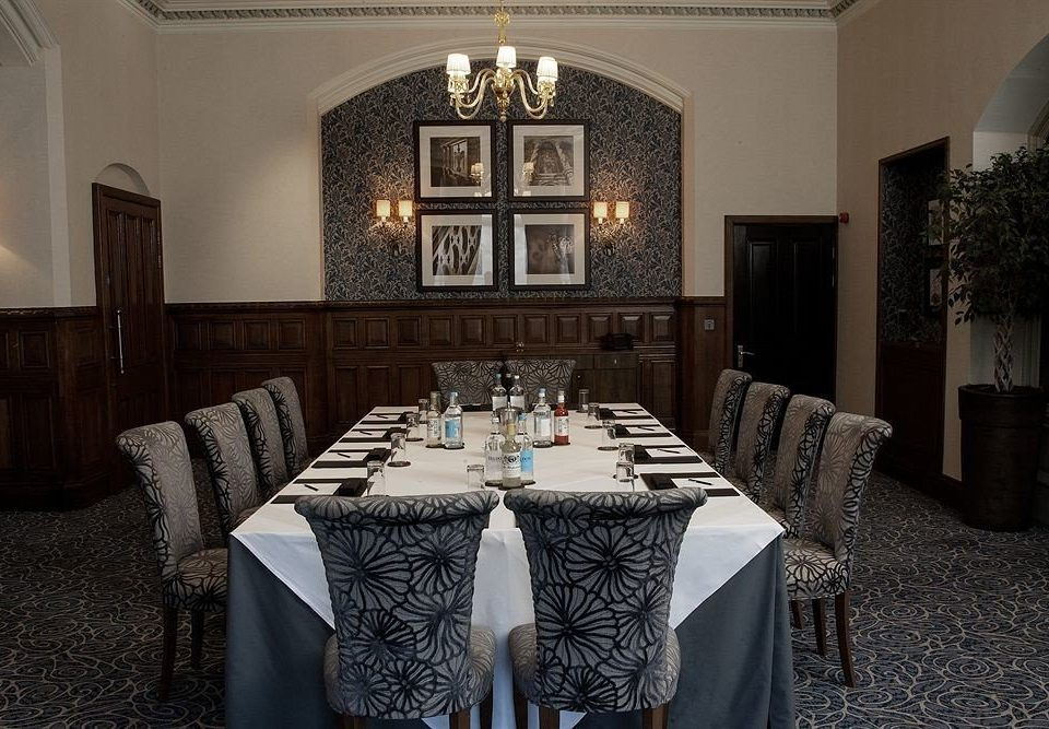 function hall restaurant mansion ballroom set fancy dining table