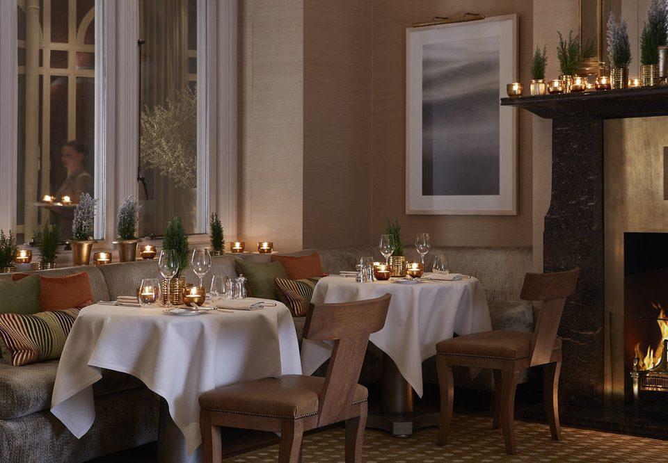 restaurant function hall lighting ballroom dining table