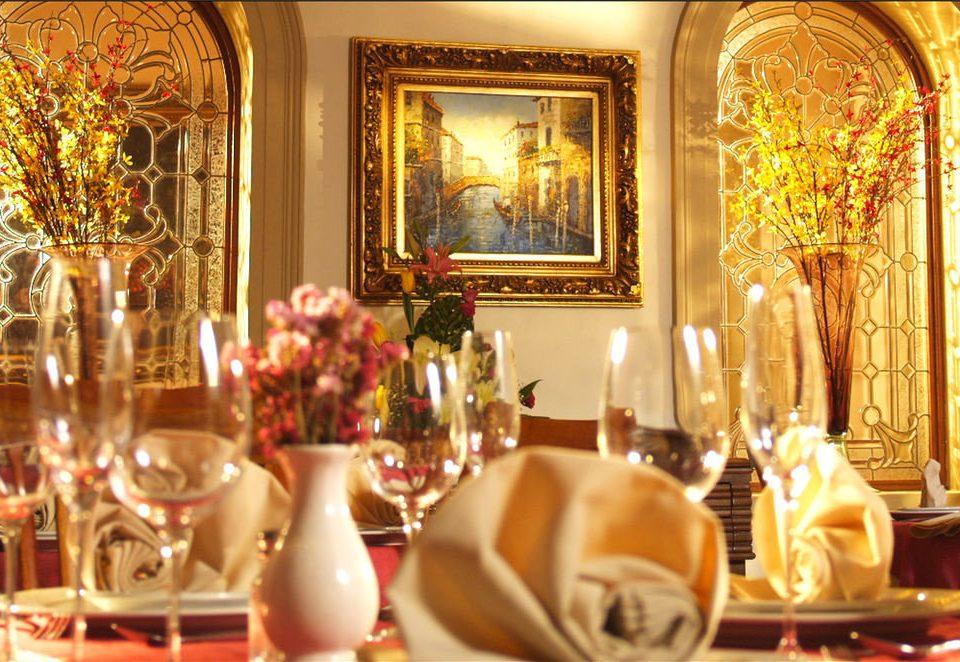 function hall restaurant ballroom dining table
