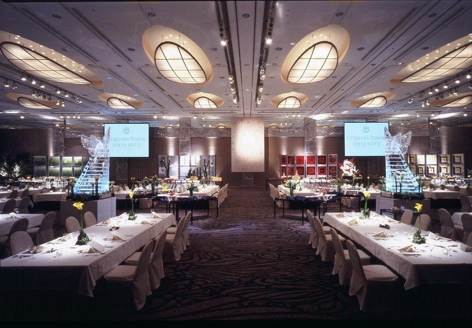 restaurant function hall ballroom long
