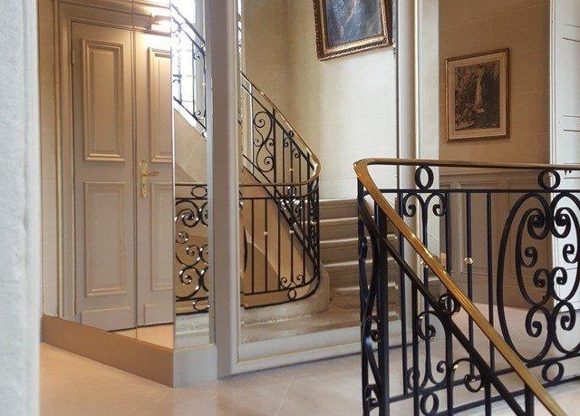 building handrail property stairs baluster hardwood home flooring door wood flooring material