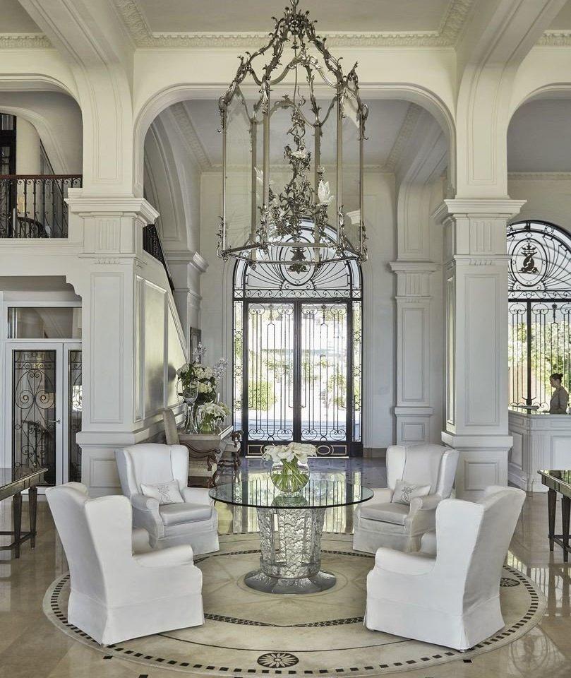 living room home column mansion baluster