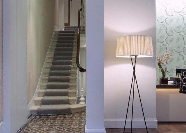 stairs lighting handrail baluster step