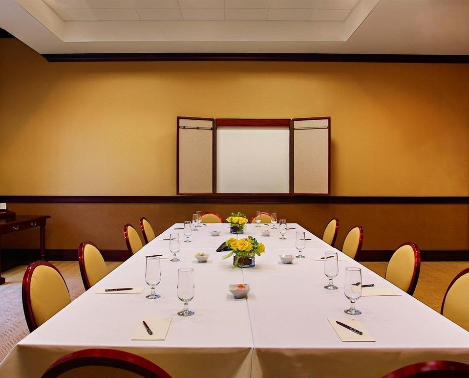 conference hall function hall banquet restaurant meeting conference room dining table
