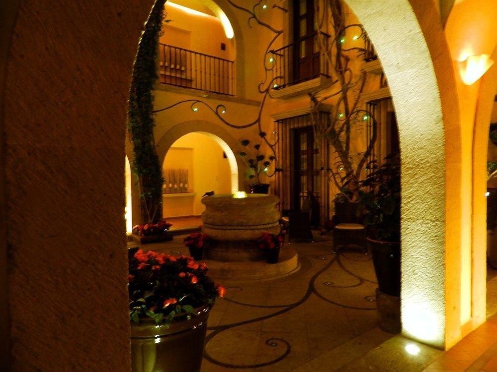 night light lighting evening restaurant Bar alley arch